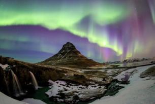 Auroras Boreales y Aguas Termales (8 días)