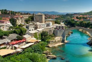 Triangulo balcánico: Croacia, Montenegro y Bosnia