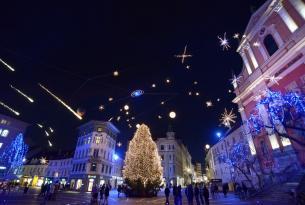 Eslovenia: mercadillos navideños en Liubliana