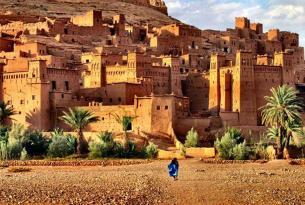 Fin de año en el desierto de Marruecos