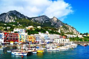 Italia: Nápoles, isla de Capri, Pompeya, Sorrento y la Costa amalfitana