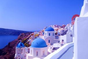 Grecia y sus islas: Atenas, Mykonos y Santorini a tu aire en coche de alquiler