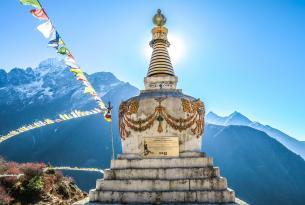 Templos y montañas de India y Nepal