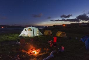 """Acampando en Escocia: """"Wild"""" Camping en la Isla de Bute"""