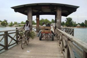 Senegal, poblados y reservas
