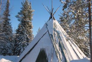 Laponia Finlandesa Navidades en Iso Syöte