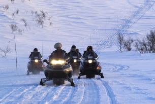Finlandia: auroras boreales en Iso Syöte