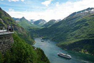 Noruega: cabañas en los fiordos y Bergen