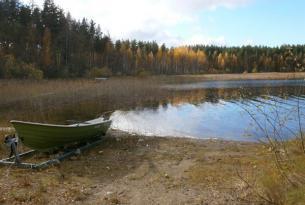 Sol de medianoche en Laponia a tu aire en cabañas y coche de alquiler.