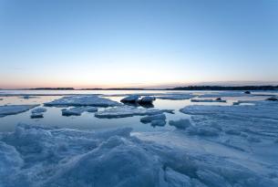 Aurora boreales y actividades invernales en la Laponia finlandesa: Levi
