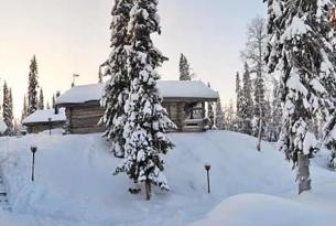 Aventura y auroras boreales  en el norte de Suecia: Kiruna y Abisko.