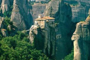 Ruta por Grecia: Atenas, Santorini, Meteora y 7 días de travesía en velero