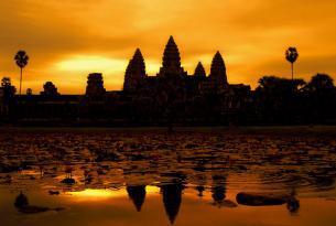 La pintura de Vietnam y Camboya