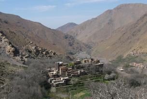 Trekking circular al Toubkal