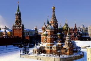 Rusia (San Petersburgo y Moscú): especial Navidad y Fin de Año