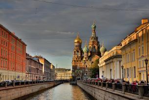 Rusia: San Petersburgo y Moscú (en grupo desde Valencia, Barcelona y Bilbao)