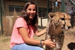Viaje solidario a Sudáfrica: conservación de elefantes, guepardos y monos