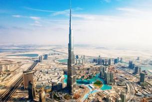 Tres emiratos: Abu Dhabi, Dubai y Sharjah