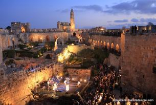 Israel: once días, cuatro mares