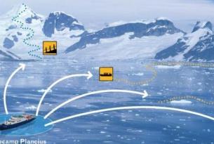 Antartida -  Base Camp en la Península Antártica   - Montañismo, kayak  y acampada en el continente