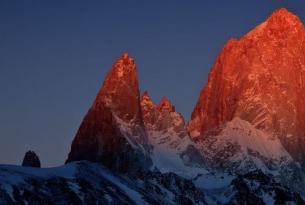 Argentina y Chile    -  Trekking en Patagonia: El Chalten, Torres del Paine y Tierra de Fuego. - Salidas en grupo Octubre 2.013