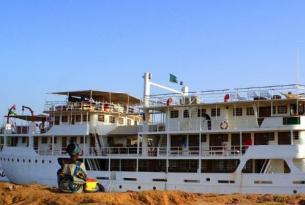 Senegal -  El río Senegal a bordo del Bou el Mogdad - Noviembre 2013 a Mayo 2014