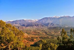 Viaje en bicicleta. En MTB por el Parque Nacional de Toubkal y Amizmiz (Marruecos)