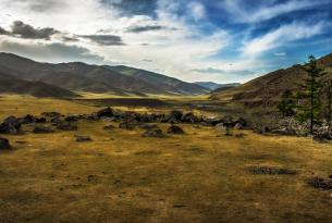 Viaje en Bicicleta Btt Mongolia valle de Orkhon