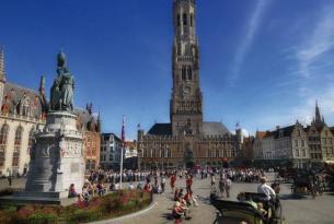 Escapada Romántica a Brujas, Bélgica