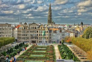 Fin de semana en Bruselas con panorámica y tour a pie por el centro
