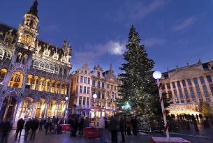 Bélgica: Bruselas y Canales de Brujas