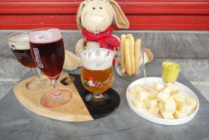 Oferta de viaje a Bruselas para estudiantes con degustacion de cervezas.