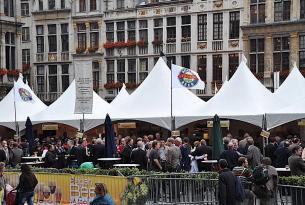 Fiesta de la cerveza en Bruselas