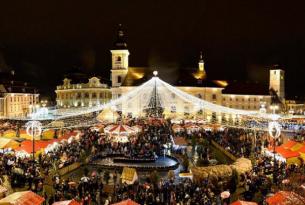 Puente de diciembre en Rumanía