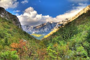 Senderismo  por los parques nacionales de Croacia (Risnjak, Velebit Norte, lagos de Plitvice, Paklenica y Krka)