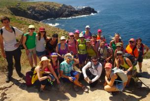 Senderismo en grupo P.Nacional Islas Atlánticas, Islas Cies, Isla de Ons y Rias Baixas