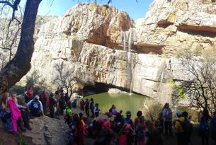 Carnaval de Miguelturra y cascada de la Cimbarra
