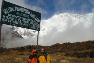 Trekking al campo base de Annapurna: a los pies de la diosa de las cosechas