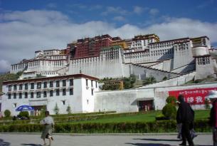 La ruta clásica a Lhasa, capital del Tibet