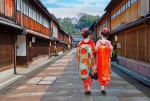 El Japón de los ninjas, las geishas y los samurais (Kanazawa, Tokio, Kioto, Fuji, Nagano y más)