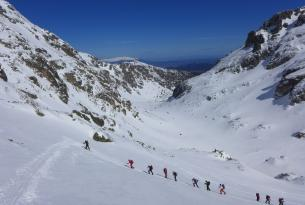 Esquí de travesía en Rila y Pirin (Bulgaria)