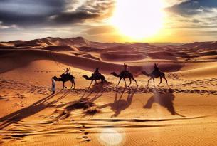 Marruecos de lujo: Marrakech, kasbahs y desierto