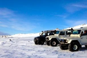 Islandia Super Jeeps (viaje en grupo conduciendo un 4x4 preparado)