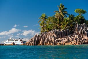 Paraíso en las Seychelles. Crucero de 5 días a bordo de un yate boutique