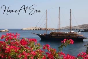 Crucero en yate surcando las Costas del Peloponeso