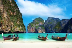 Las costas del Mar de Andamán (Tailandia) a bordo de un Velero