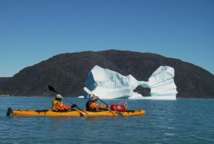 Groenlandia. Kayak y Trekking Glaciar. 8 días