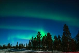 Laponia: Travesía con raquetas en el Parque Nacional del Oulanka