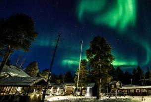 Semana Santa en Finlandia. Huskies, Motonieve y Raquetas en Inari