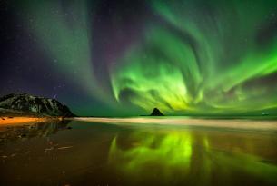 Noruega: taller fotográfico de auroras boreales en Lofoten y Senja